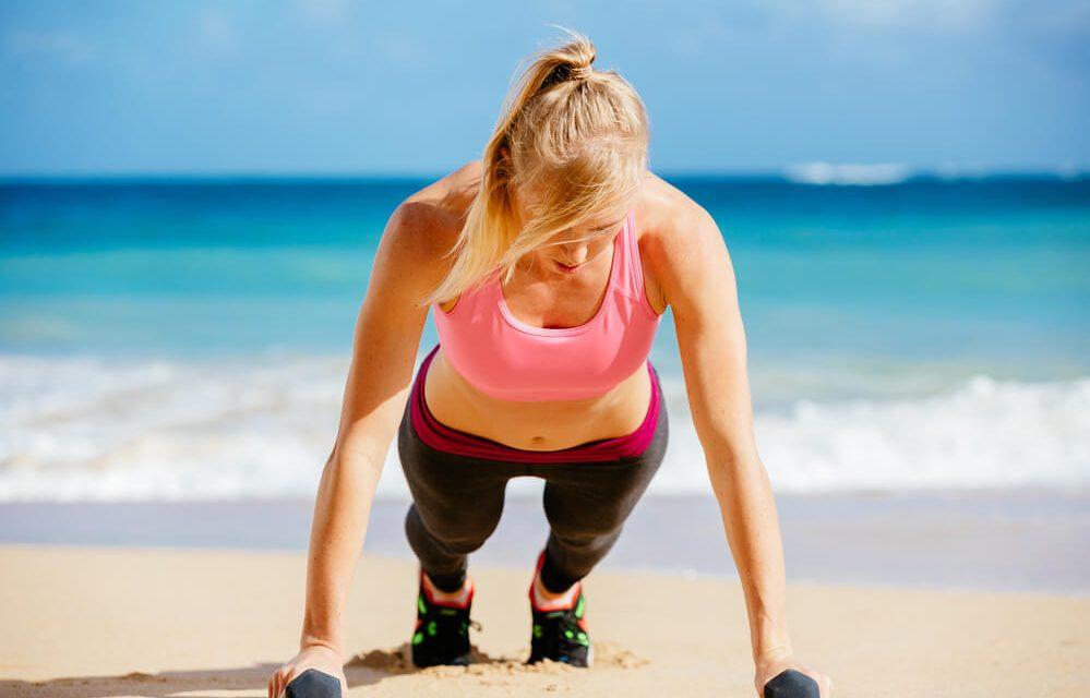 Treino na praia: 7 dicas para um treino de sucesso