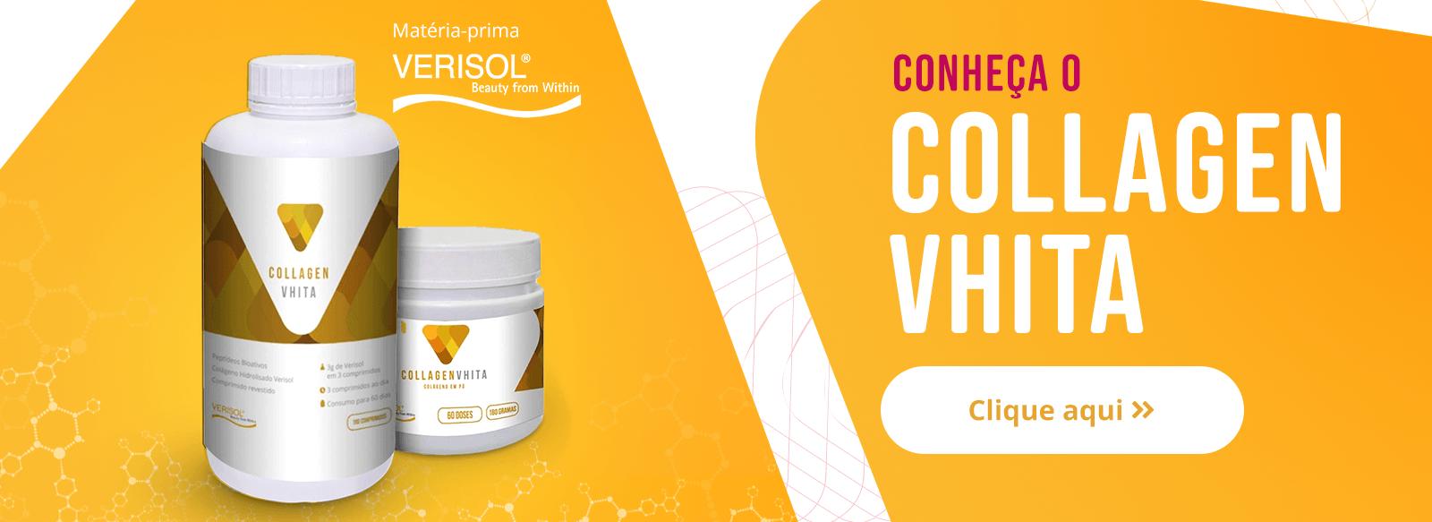 Colágeno hidrolisado melhor marca - Collagen vhita.
