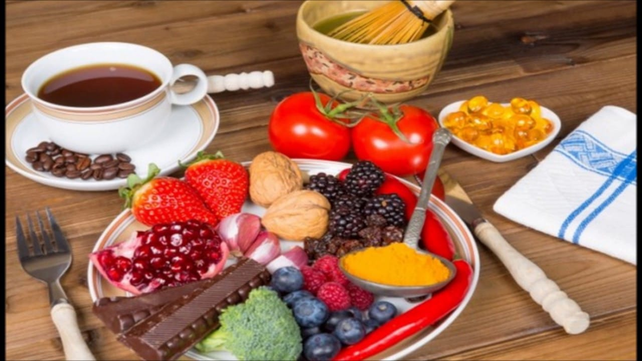 Nutrientes anti-inflamatórios.