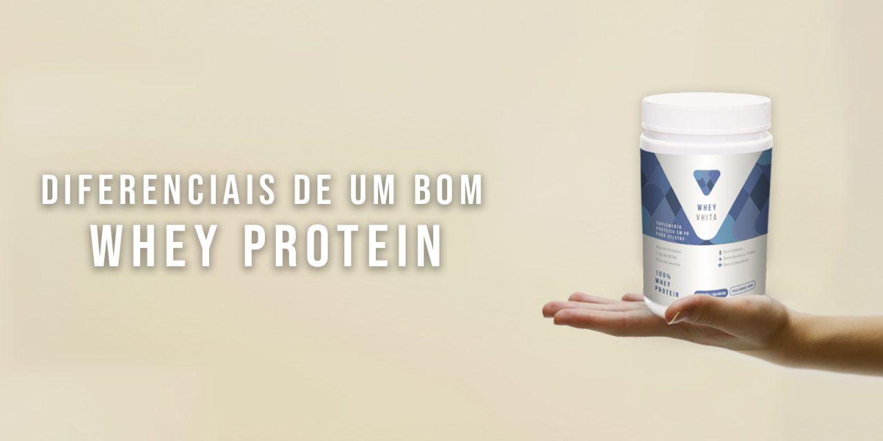 Conheça os diferenciais de um bom Whey Protein
