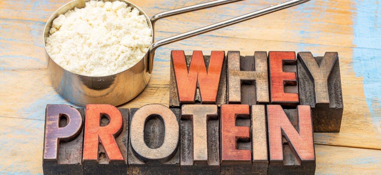 Whey protein engorda