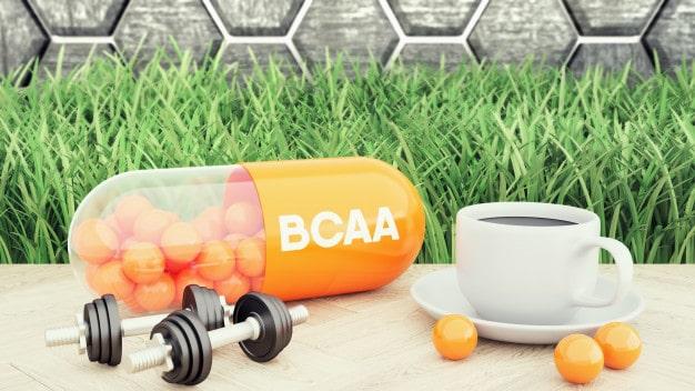 Suplemento alimentar BCAA