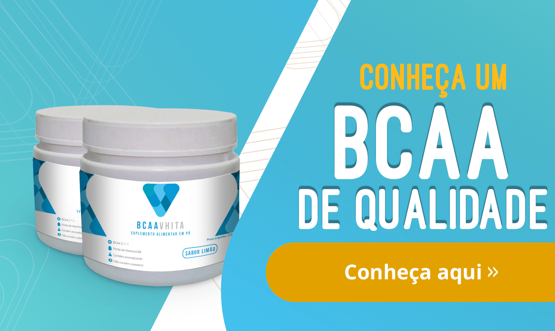 Conheça um BCAA de qualidade.