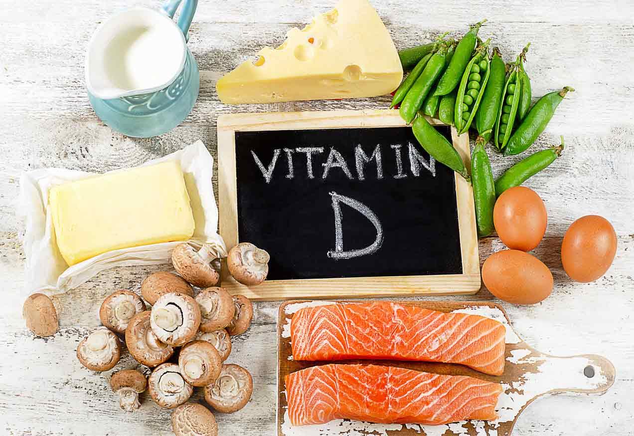 Vitamina D alimentos.