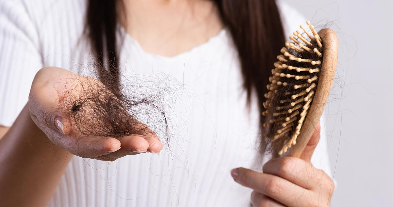 quedas de cabelo