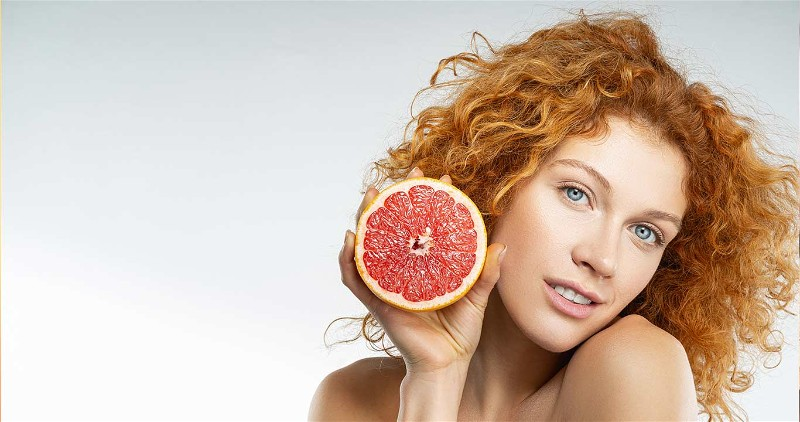 mulher segundo fruta